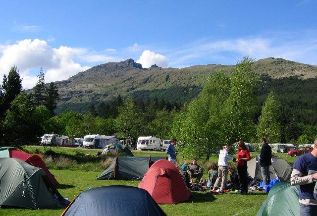 Ardgartan  camp site