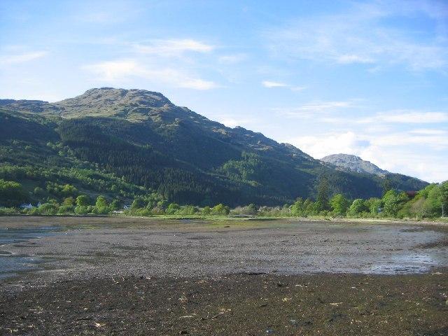 The head of Loch Long