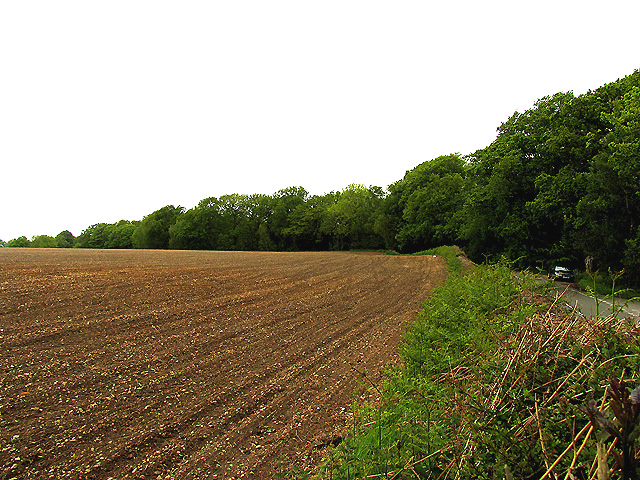 Ploughed Field on old fort ground
