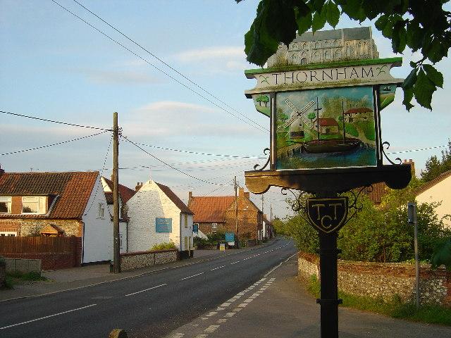 Thornham village centre