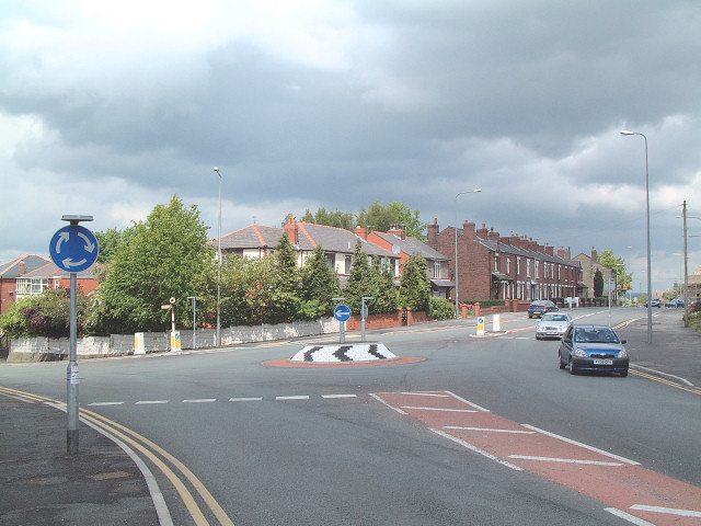 Gantley Road and Upholland Road
