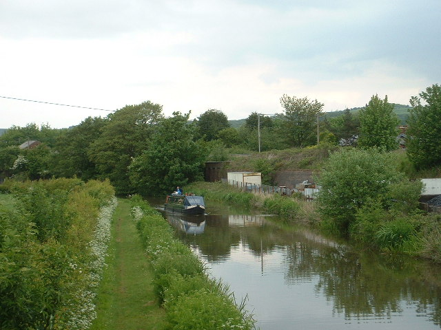 Lancaster Canal [site of Garstang Station]