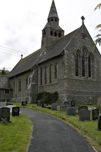 Church at Cwmbach Llechrhyd