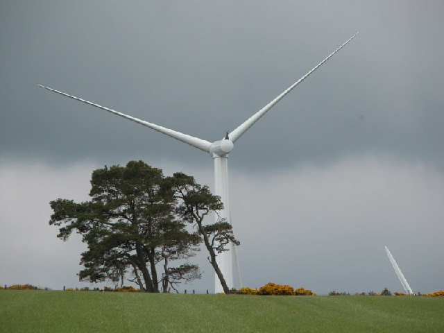 The Glens of Foudland windfarm