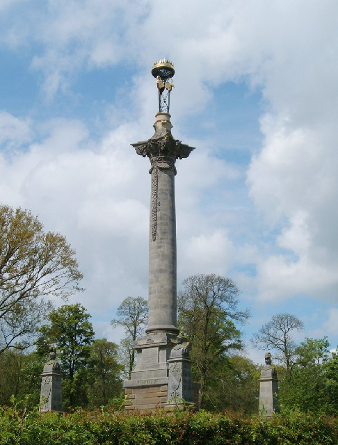 Monument to 7th Earl of Carlisle