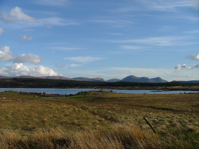 Loch Eigheach from the north