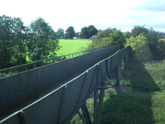 Telford's Aqueduct at Longdon