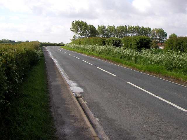 The road from Hedon to Thorngumbald