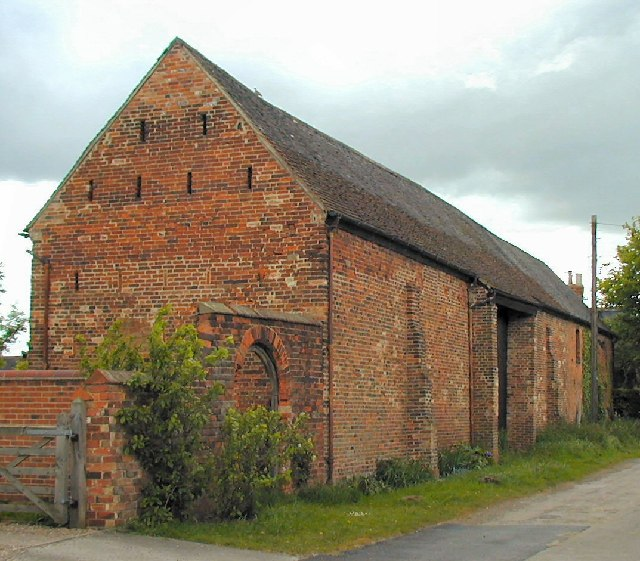 Buttressed Barn at Great Wilne