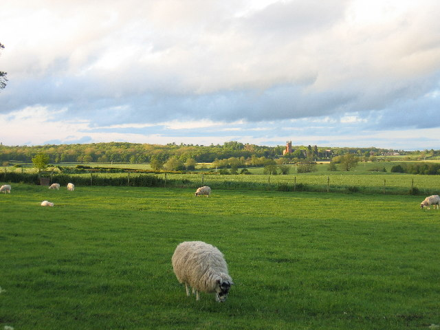Princethorpe from Wappenbury Barn