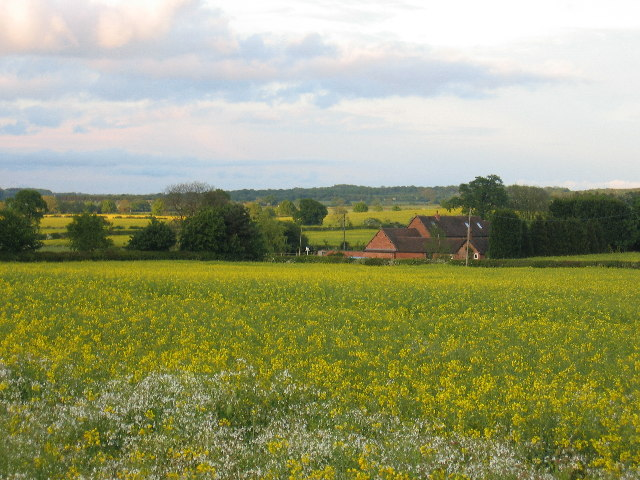 View of Bericote Fields Farm