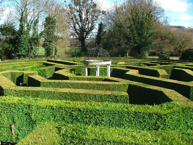 The Amazing Hedge Puzzle, Jubilee Park, Symonds Yat