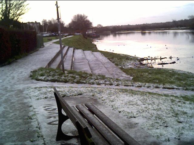 River Dee at Sandy Lane, Boxing Day 2004