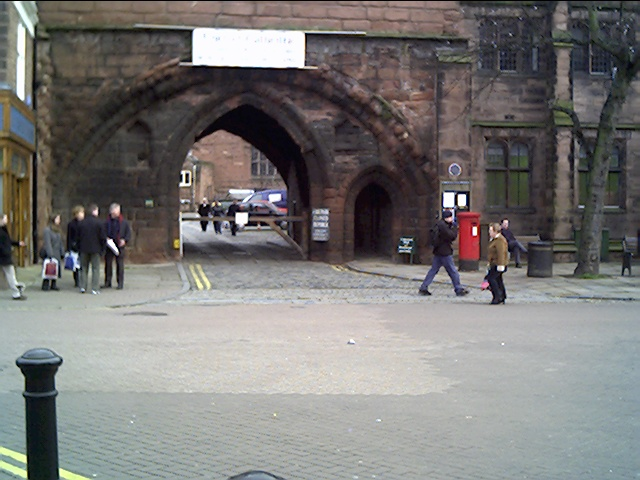 Abbey Gateway, Northgate Street, Chester