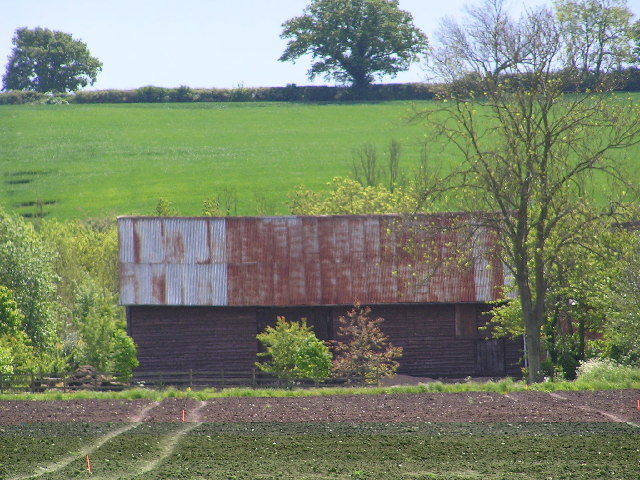 Wooden Barn at Thorn Dene