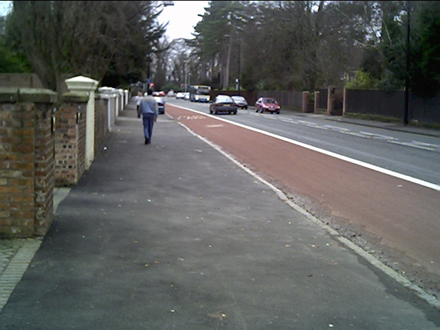 Hough Green, Looking towards Chester