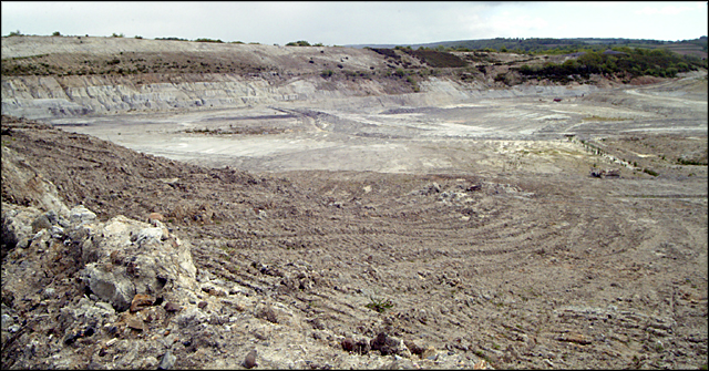 Chudleigh Knighton Clay pits