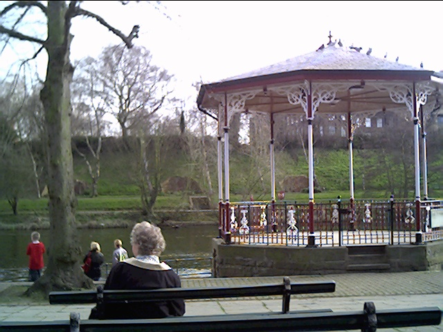Bandstand at the Groves, Chester