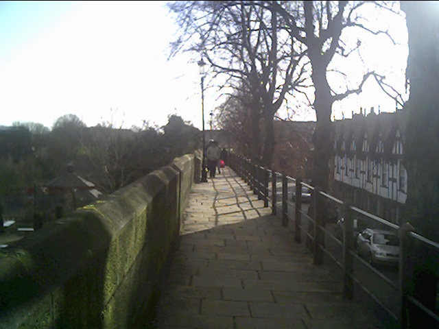 A view along Chester's Walls