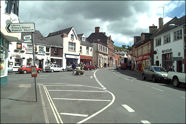 Bovey Tracey town square