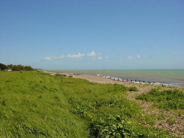 Beach between East Preston and Rustington