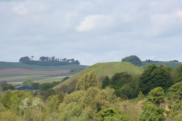 Silbury Hill from the East