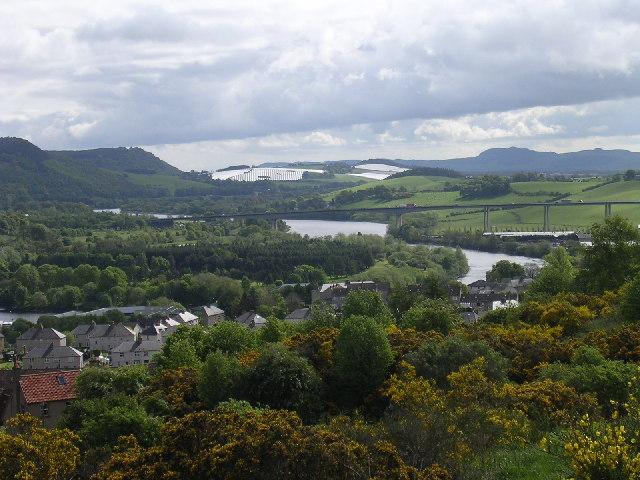 The River Tay and Friarton bridge