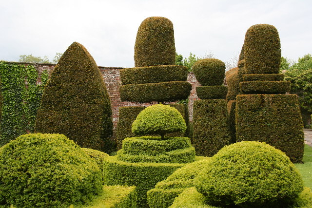 The Topiary Garden of Avebury Manor