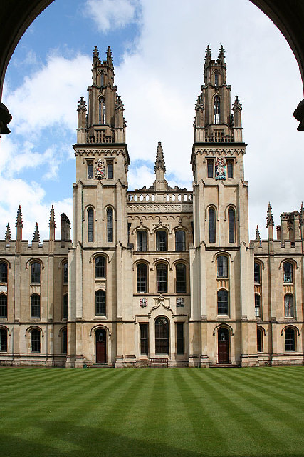 West front of All Souls College