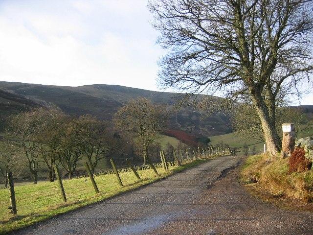 Road  in Glen Uig.