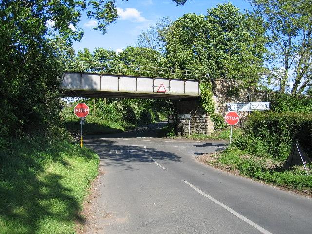 Leek Wootton crossroads