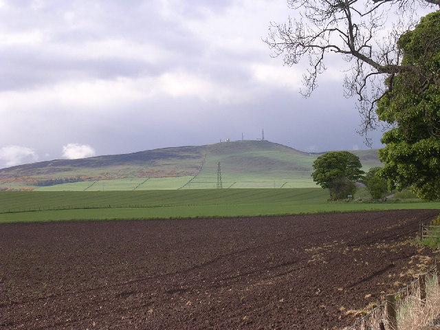 Craigowl Hill  (455m)on the Sidlaws