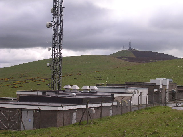 TV and radio transmitter on Gallow Hill