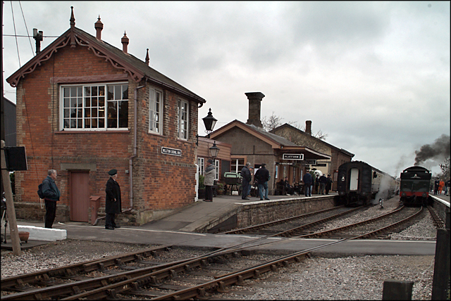 Williton Station, West Somerset Railway