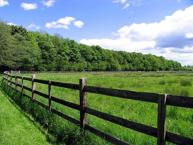 Farmland between Woodspeen and Bagnor