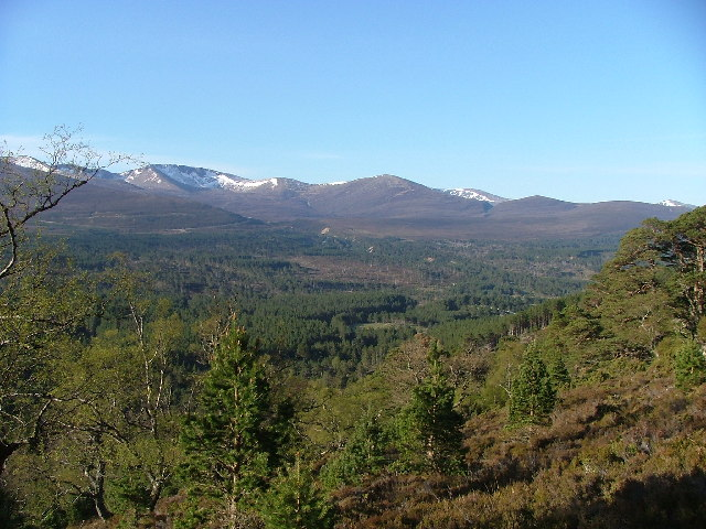 Looking toward Cairngorms from Creag Loisgte