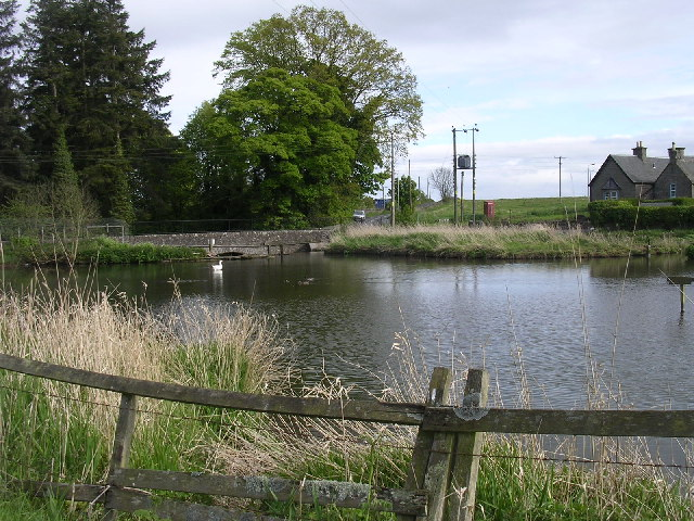 Village Pond, Burnside of Duntrune