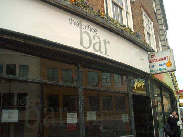 """The Office Bar"", Slough High Street"