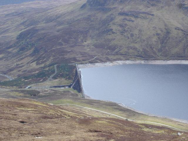Dam on Loch an Daimh