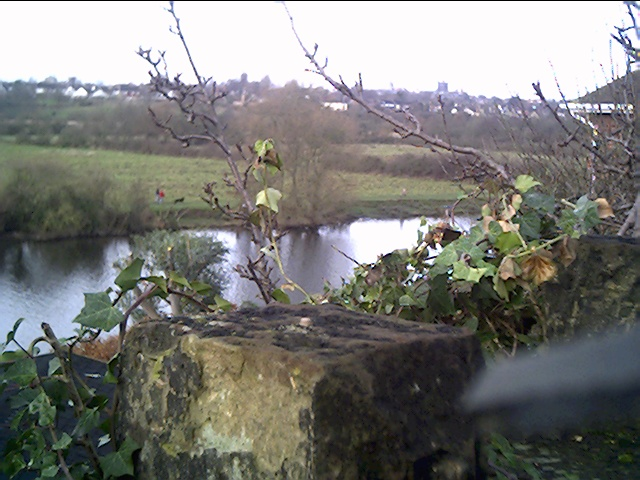 The River Dee from Dee Banks, Boughton, Chester