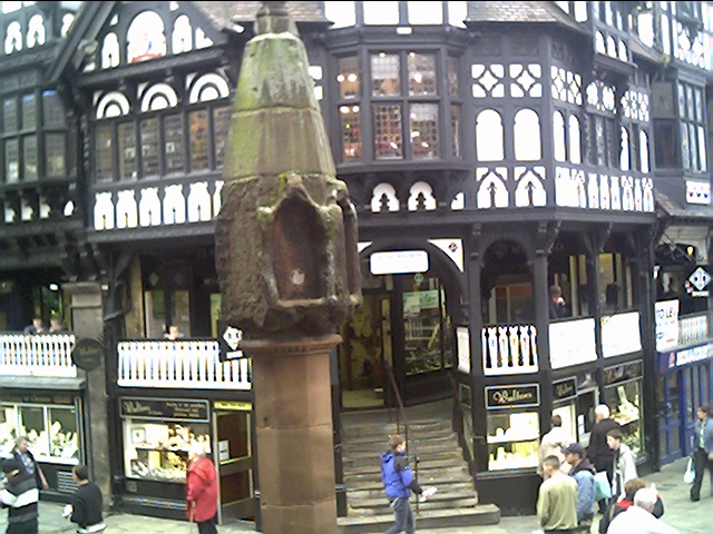Chester Cross from the Rows