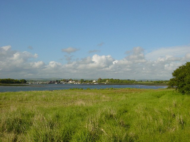 Dell Quay and the Fishbourne Channel