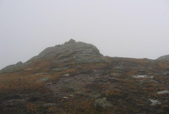 Summit of Sgiath Chùil