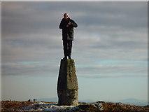 N2403 : Trig Point, Slieve Bloom by Par Andersson