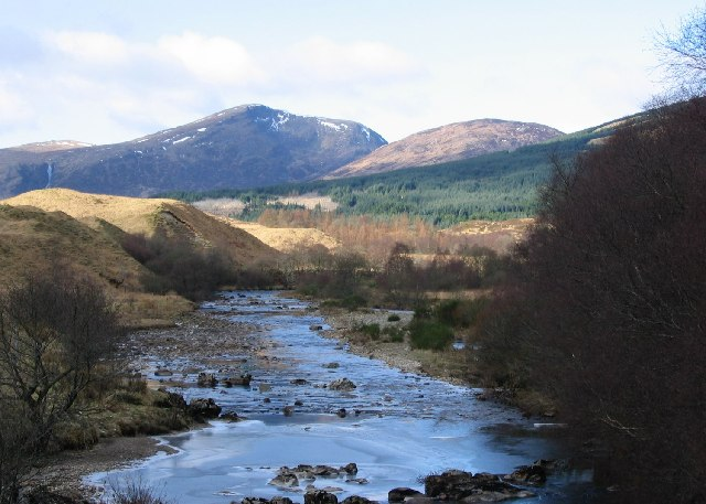 River Fillan at Dalrigh