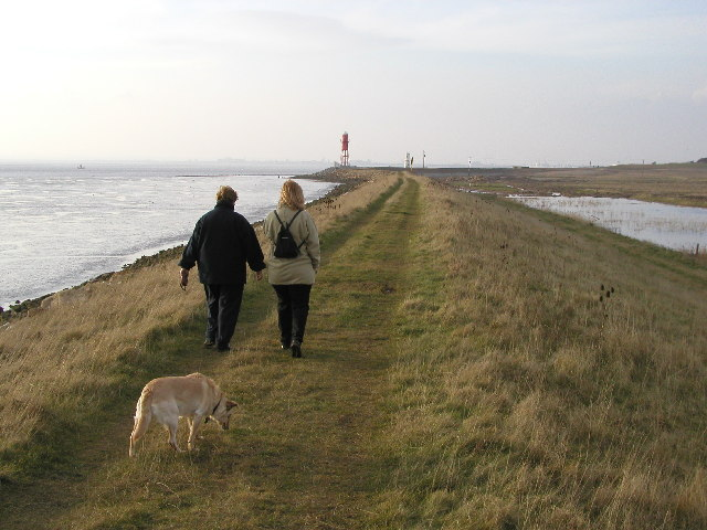 On the banks of the Humber
