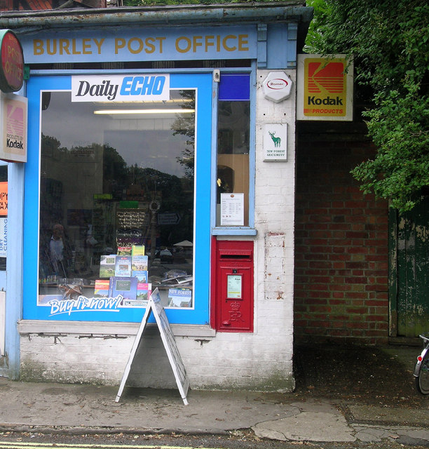 Burley Post Office