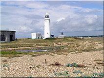 SZ3189 : Hurst Lighthouse by Steven Muster