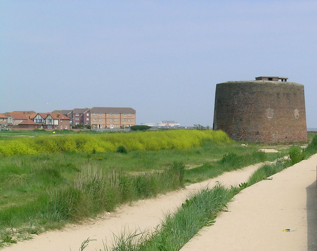 Martello Tower, Near Jaywick, Clacton-on-Sea