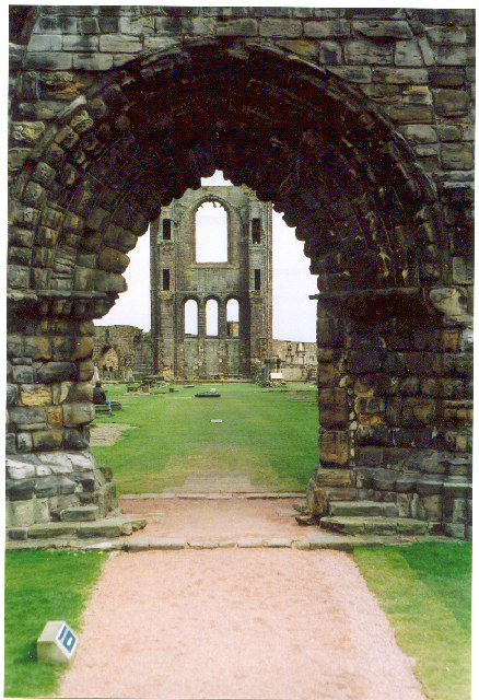 Abbey ruins, St Andrews